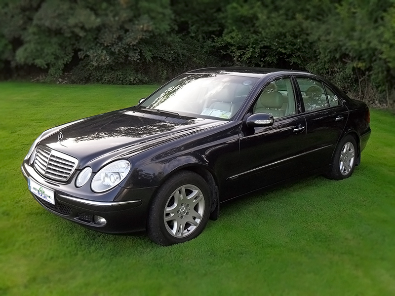 An Example of our Luxurious Mercedes Sedans